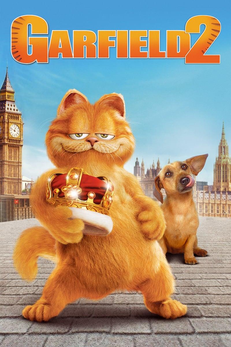 """Plakat von """"Garfield 2 - Faulheit verpflichtet!"""""""