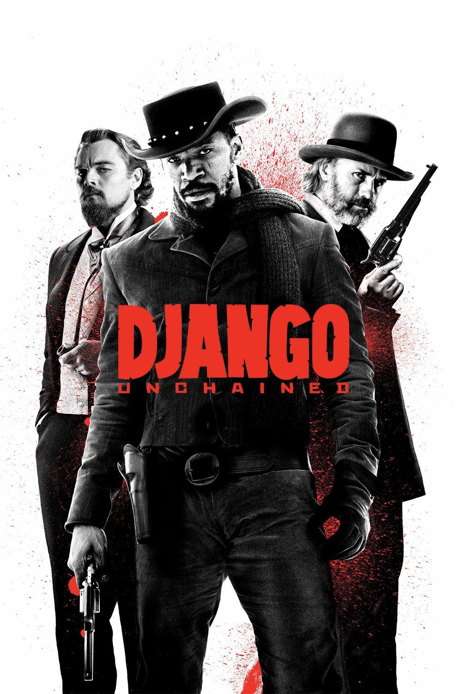 "Plakat von ""Django Unchained"""