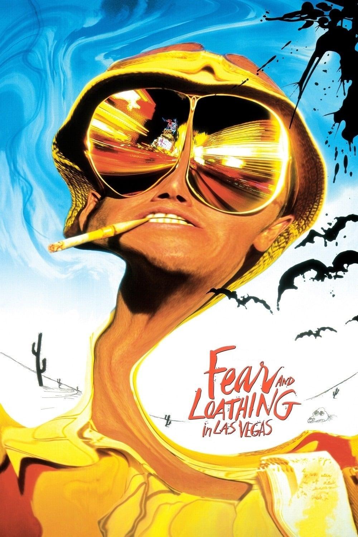 """Plakat von """"Fear and Loathing in Las Vegas"""""""