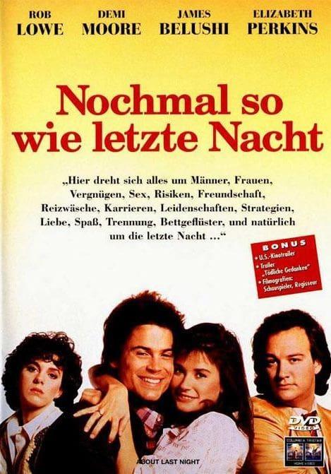 """Plakat von """"Nochmal so wie letzte Nacht"""""""