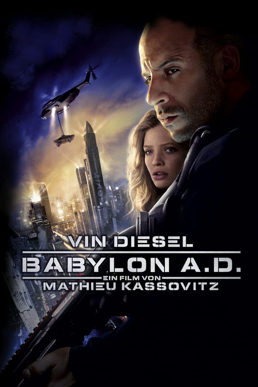 """Plakat von """"Babylon A.D."""""""