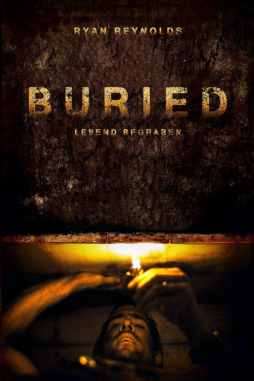 """Plakat von """"Buried - Lebend begraben"""""""