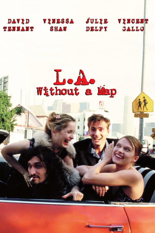 """Plakat von """"L.A. Without a Map"""""""