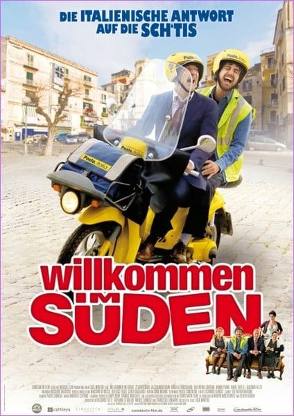 """Plakat von """"Willkommen im Süden"""""""