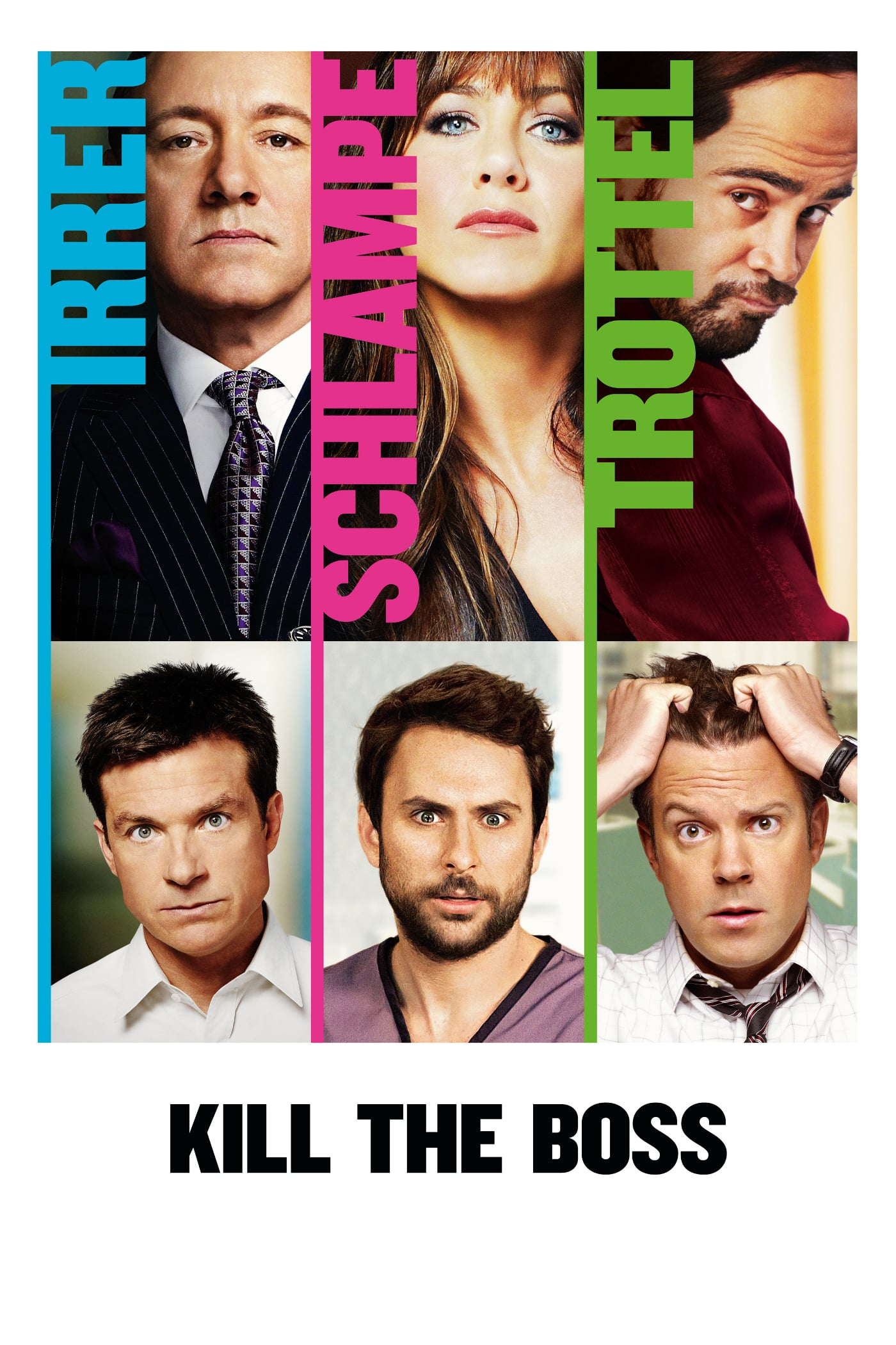 "Plakat von ""Kill the Boss"""