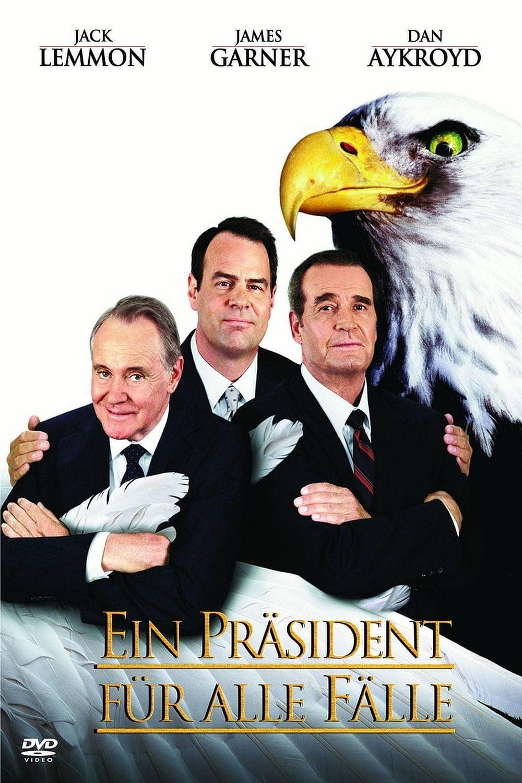 """Plakat von """"Ein Präsident für alle Fälle"""""""