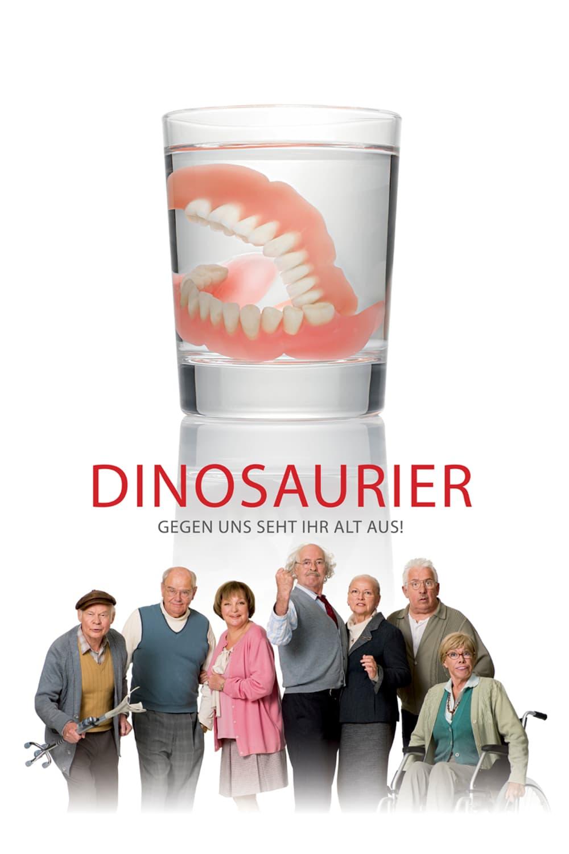 """Plakat von """"Dinosaurier - Gegen uns seht ihr alt aus!"""""""
