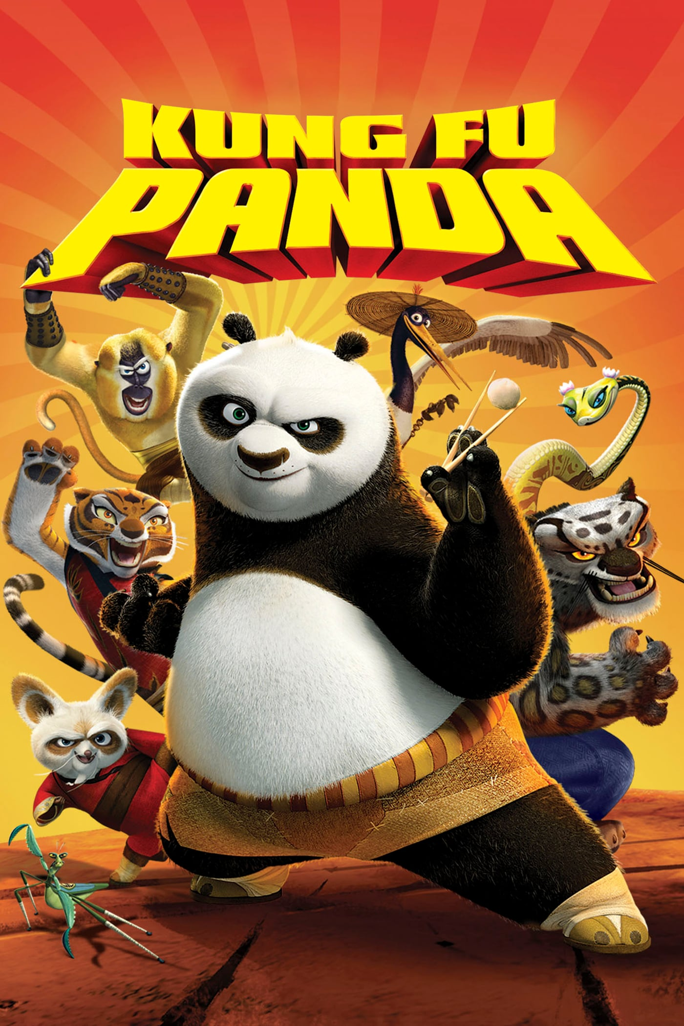 """Plakat von """"Kung Fu Panda"""""""