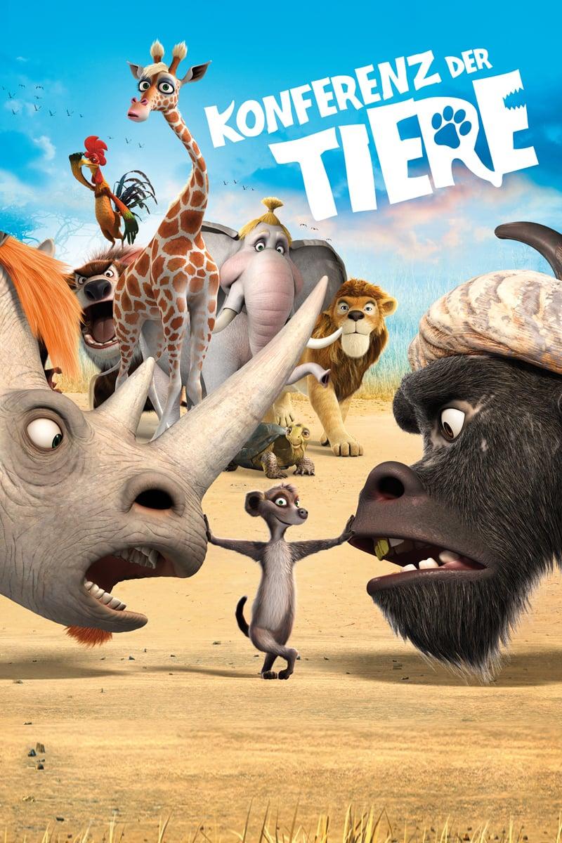 """Plakat von """"Konferenz der Tiere"""""""