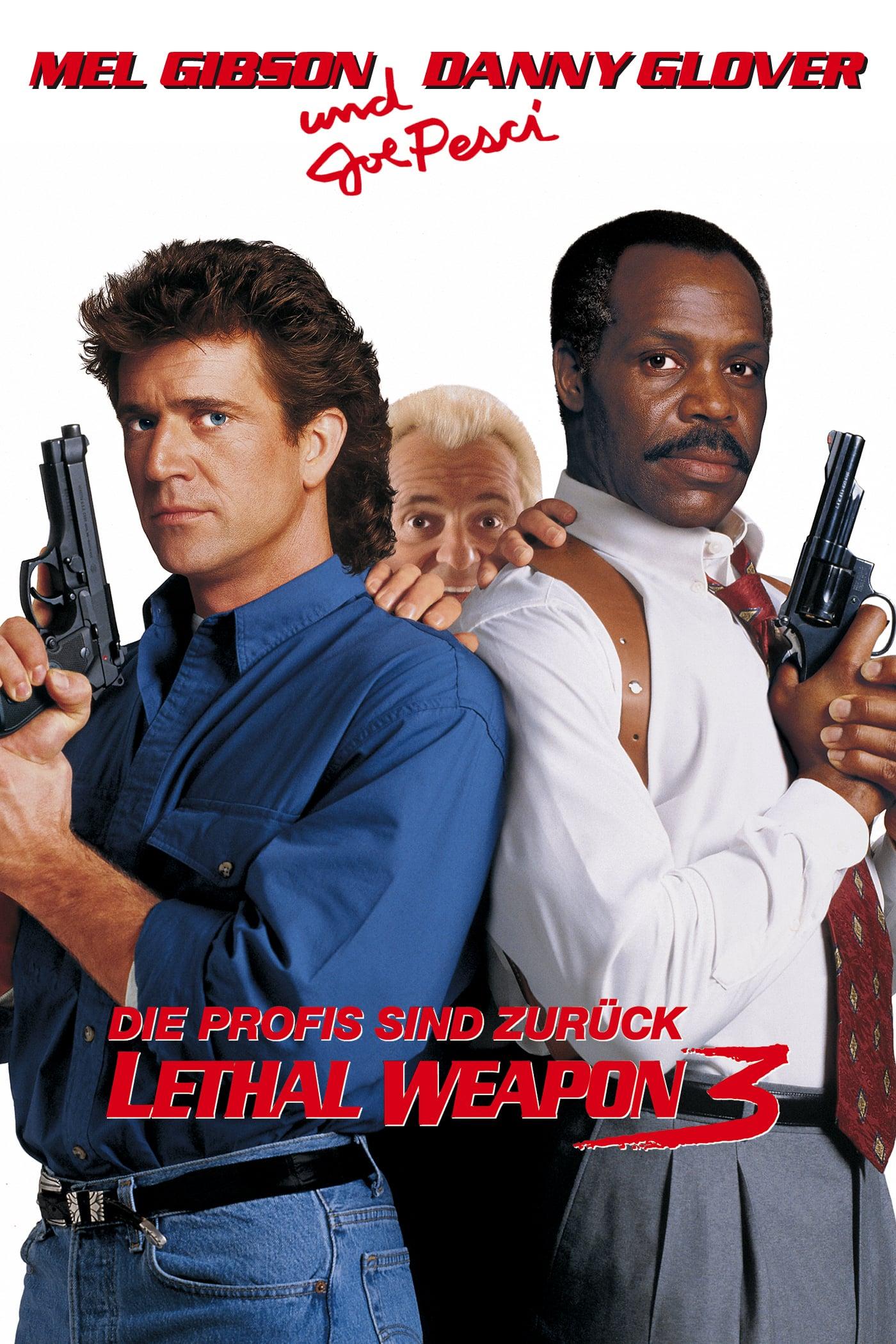 """Plakat von """"Lethal Weapon 3 - Die Profis sind zurück"""""""