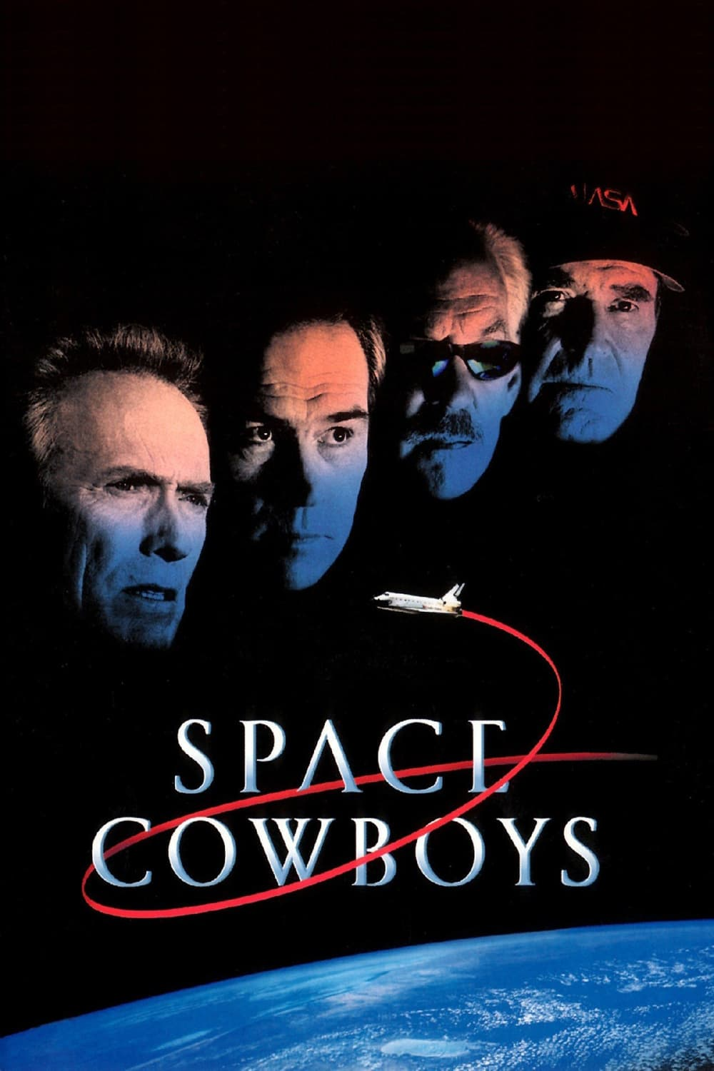"Plakat von ""Space Cowboys"""
