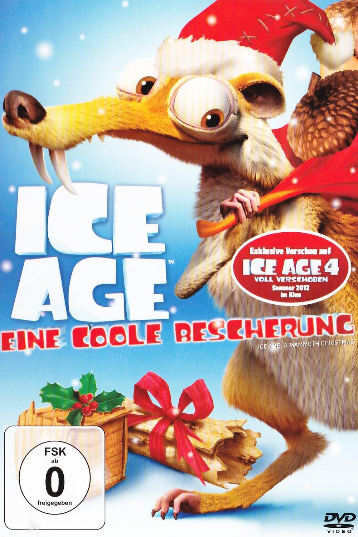"""Plakat von """"Ice Age - Eine coole Bescherung"""""""