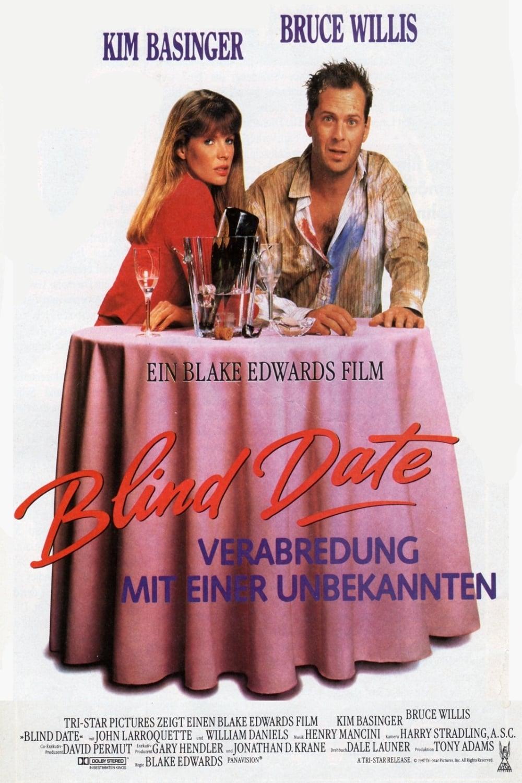 """Plakat von """"Blind Date – Verabredung mit einer Unbekannten"""""""
