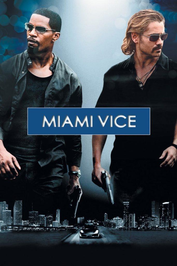 "Plakat von ""Miami Vice"""