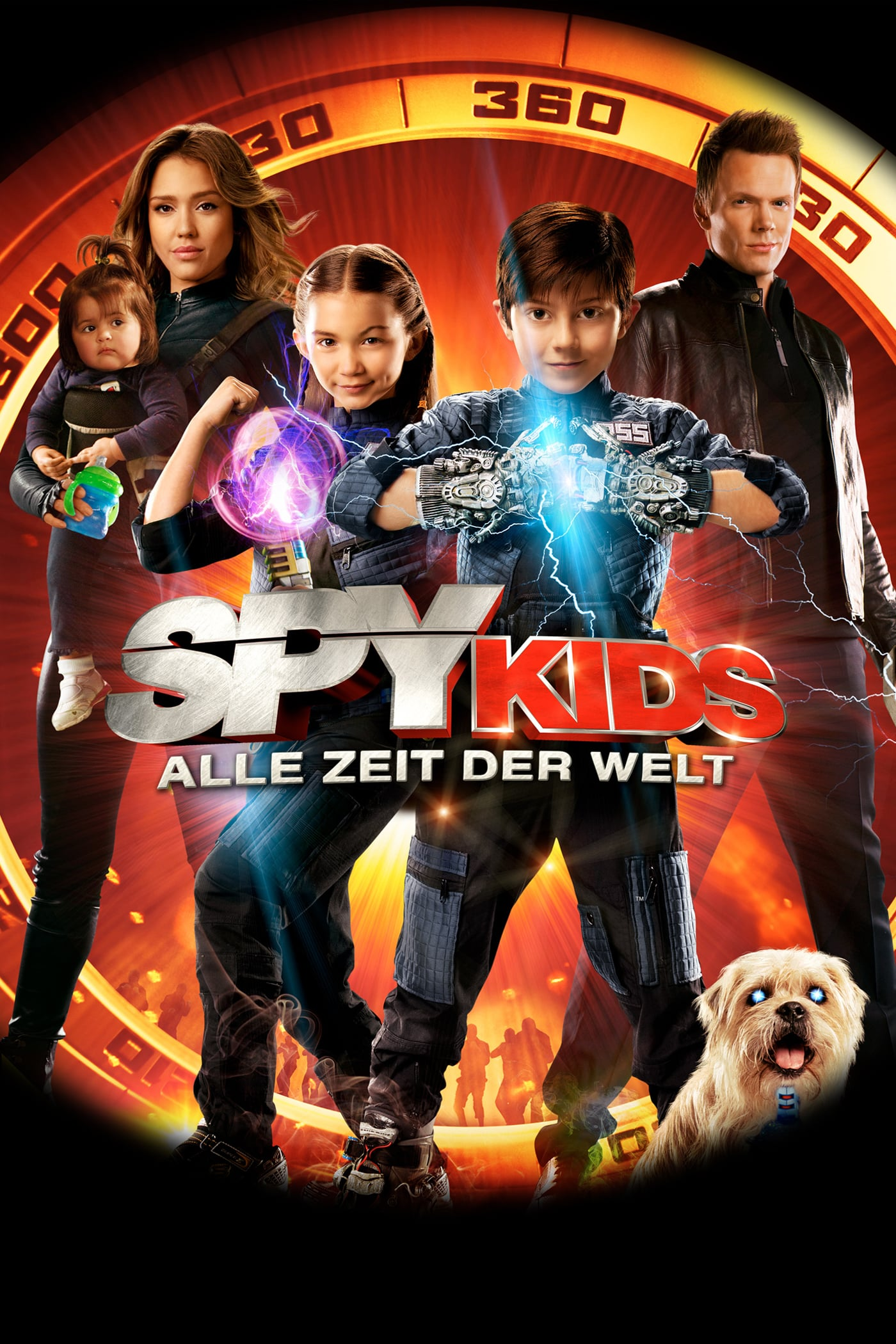 """Plakat von """"Spy Kids 4 - Alle Zeit der Welt"""""""