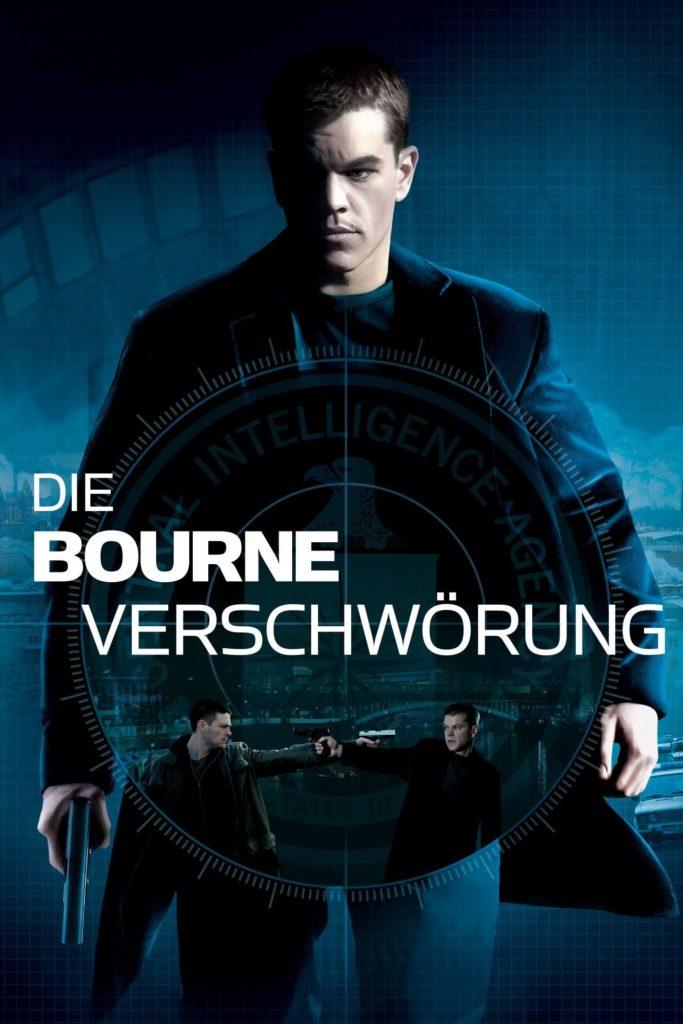 """Plakat von """"Die Bourne Verschwörung"""""""