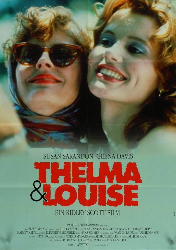 "Plakat von ""Thelma & Louise"""