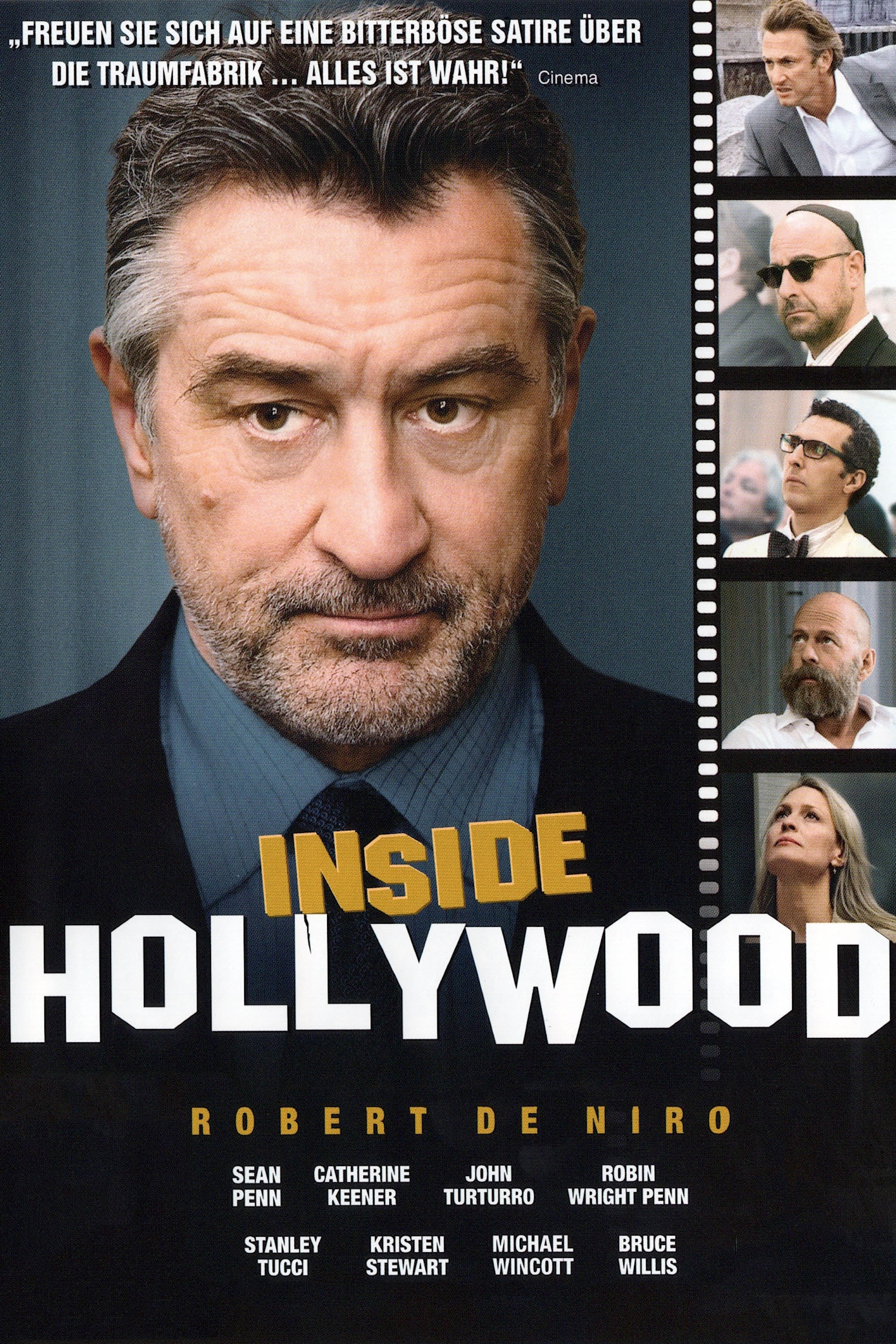 "Plakat von ""Inside Hollywood"""