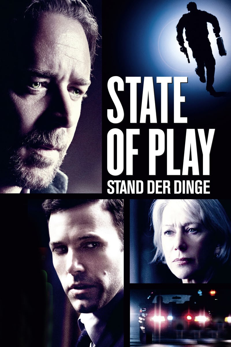 """Plakat von """"State of Play - Stand der Dinge"""""""