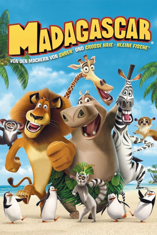"""Plakat von """"Madagascar"""""""
