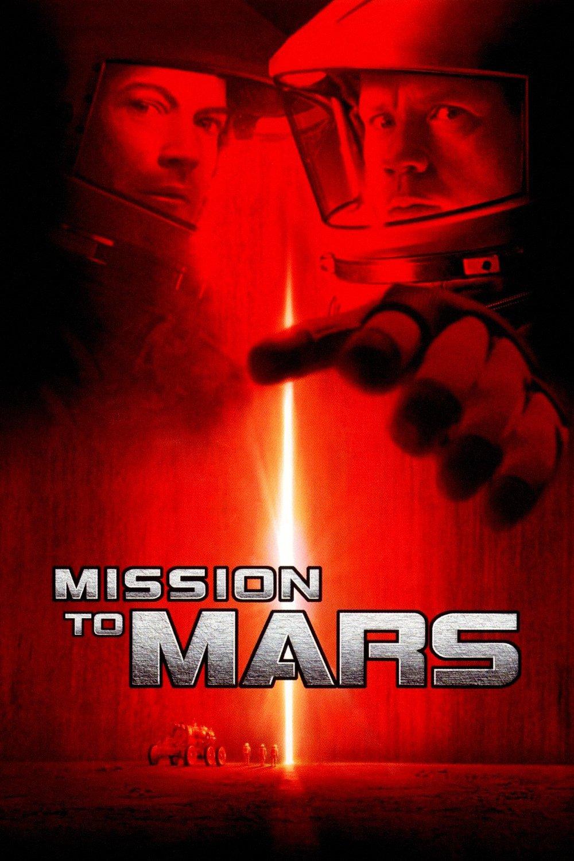 """Plakat von """"Mission to Mars"""""""