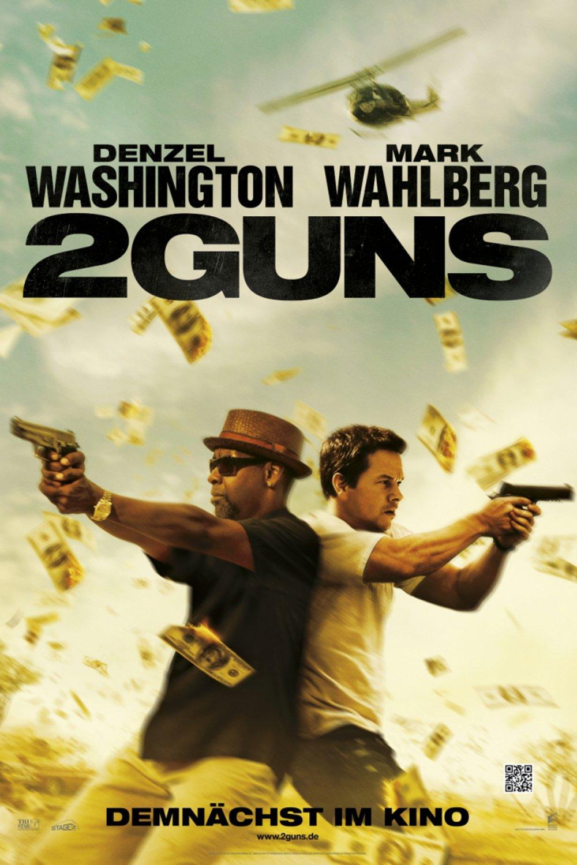 """Plakat von """"2 Guns"""""""