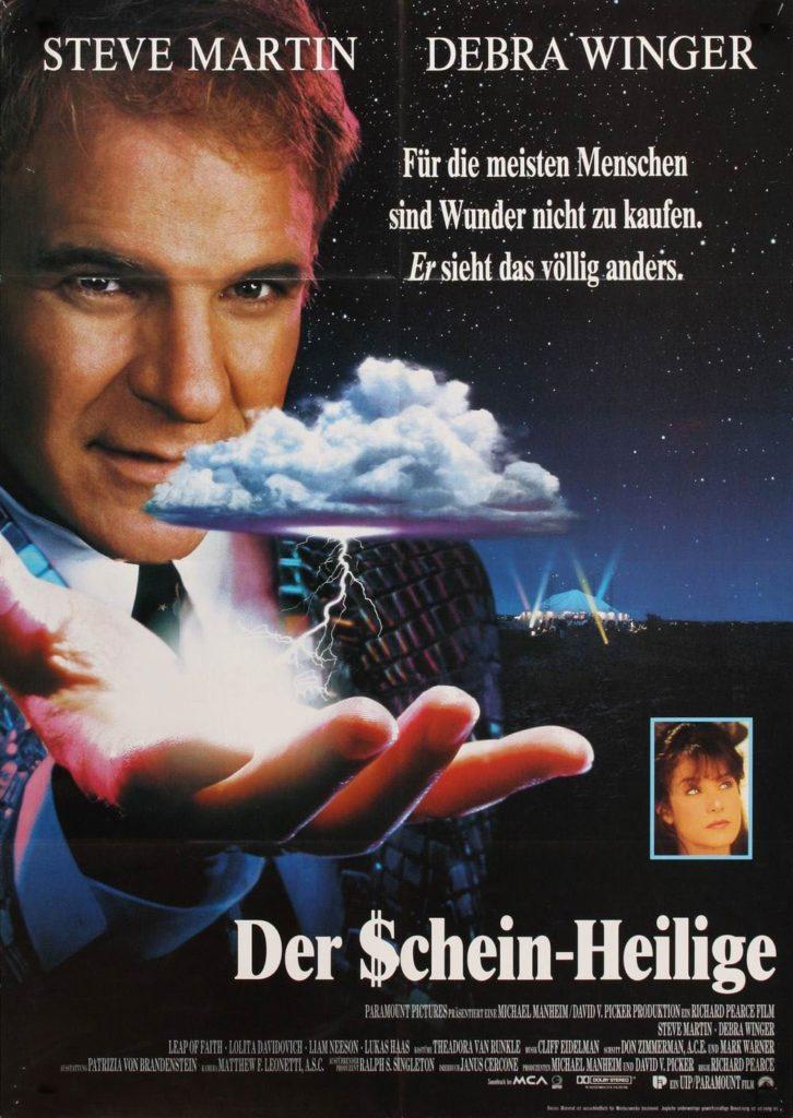 """Plakat von """"Der Schein-Heilige"""""""