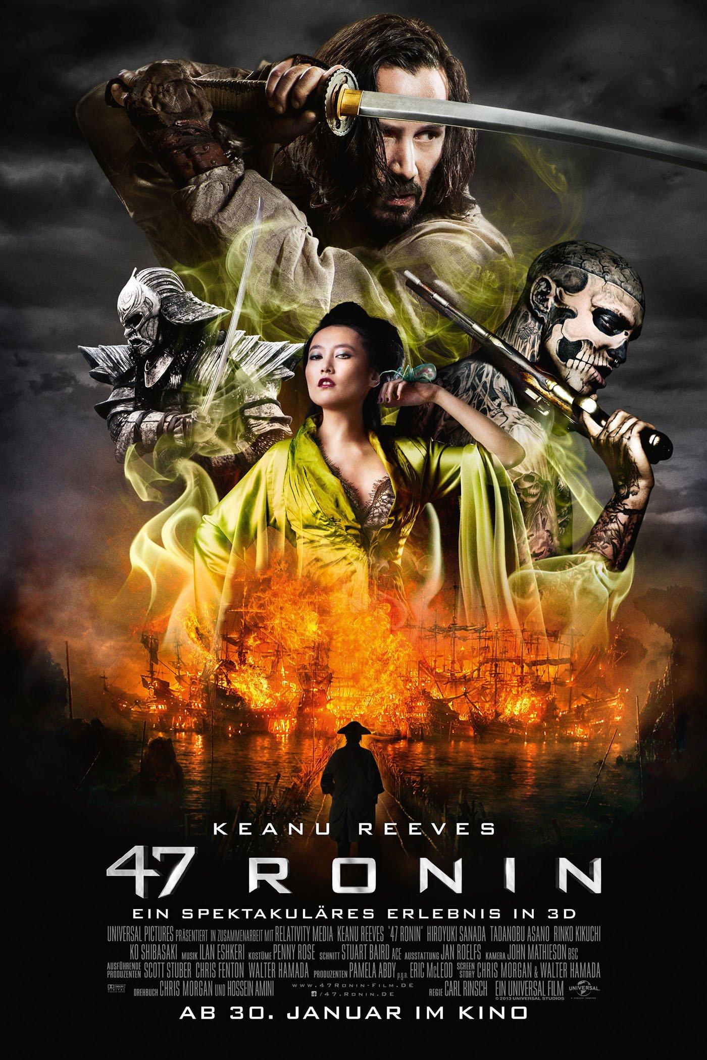 """Plakat von """"47 Ronin"""""""