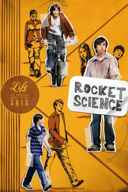 """Plakat von """"Rocket Science"""""""