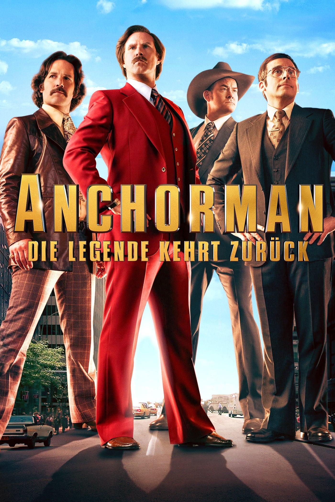 """Plakat von """"Anchorman - Die Legende kehrt zurück"""""""