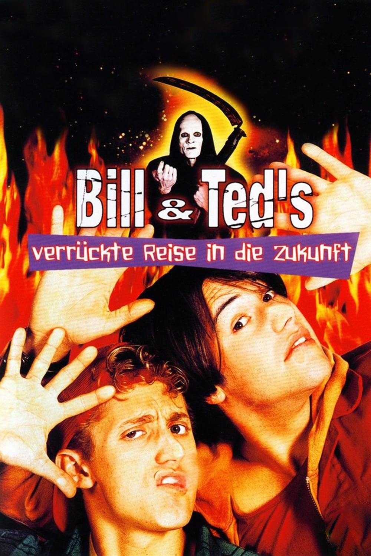 """Plakat von """"Bill & Ted's verrückte Reise in die Zukunft"""""""