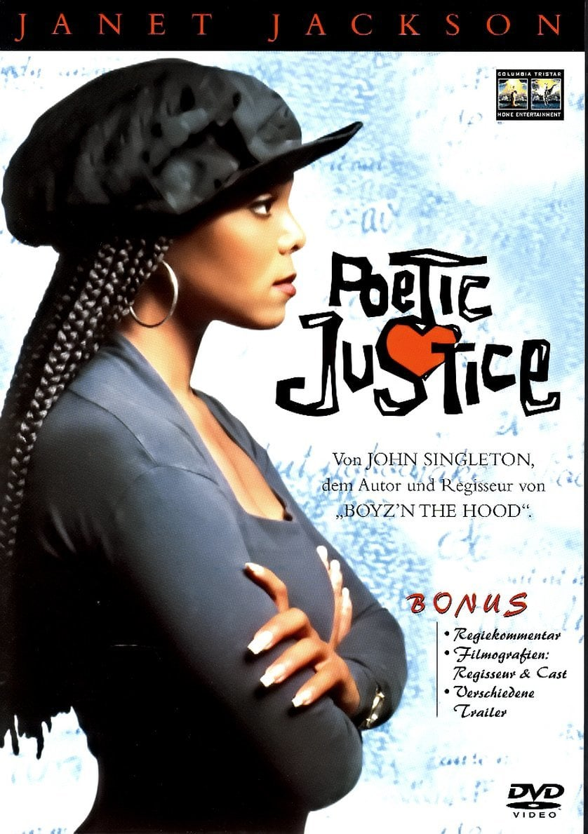 """Plakat von """"Poetic Justice"""""""