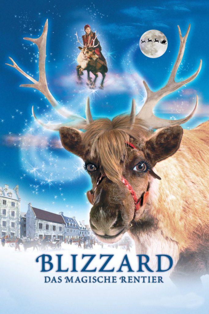 """Plakat von """"Blizzard - Das magische Rentier"""""""