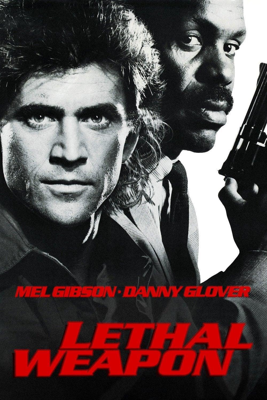 """Plakat von """"Lethal Weapon - Zwei stahlharte Profis"""""""