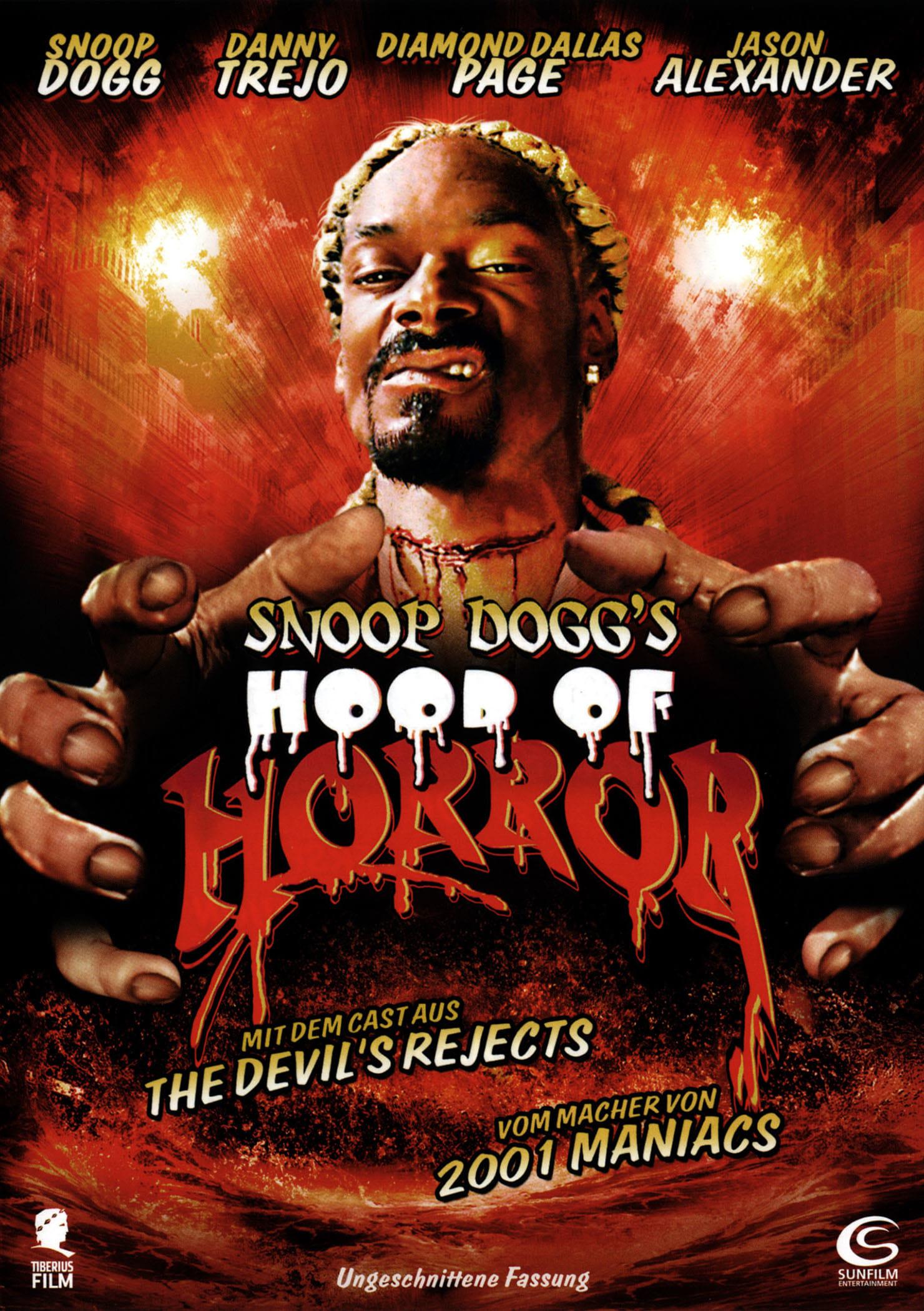 """Plakat von """"Snoop Dogg's Hood Of Horror"""""""