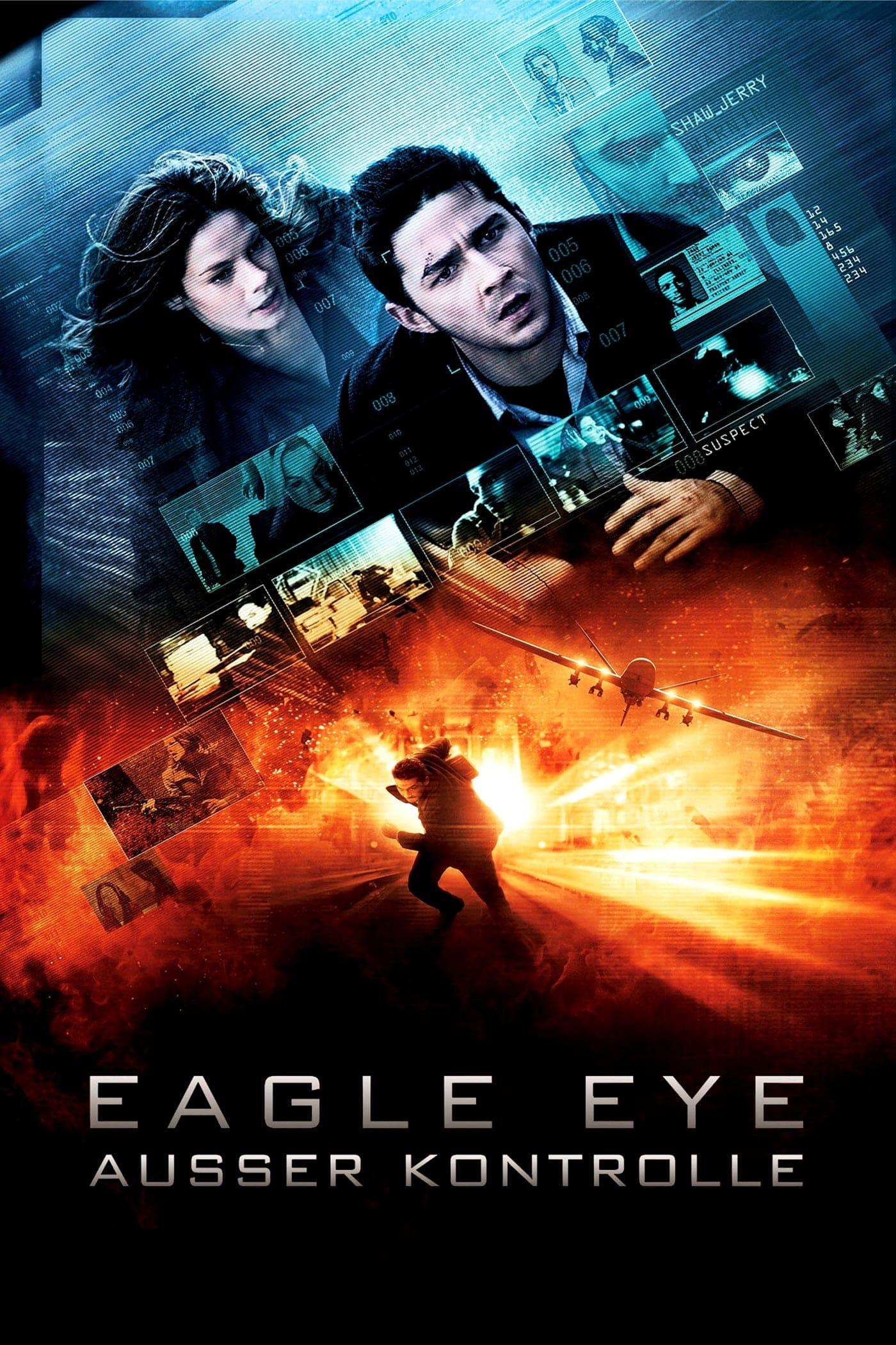 """Plakat von """"Eagle Eye - Außer Kontrolle"""""""