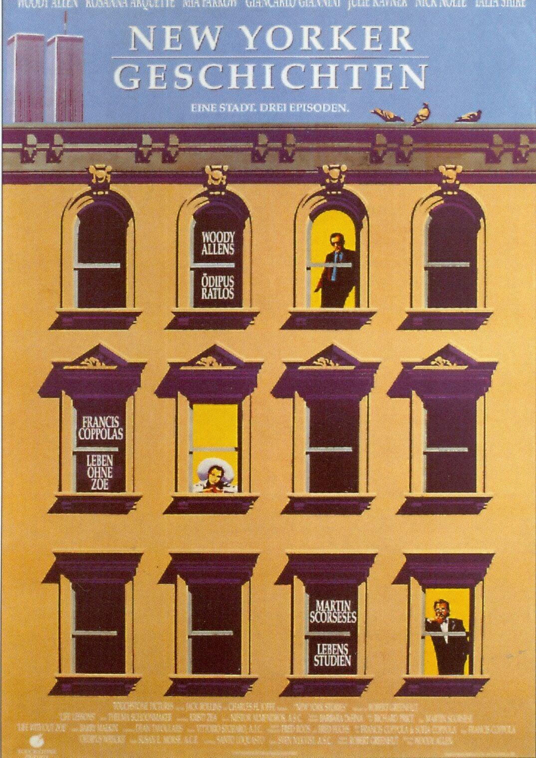 """Plakat von """"New Yorker Geschichten"""""""