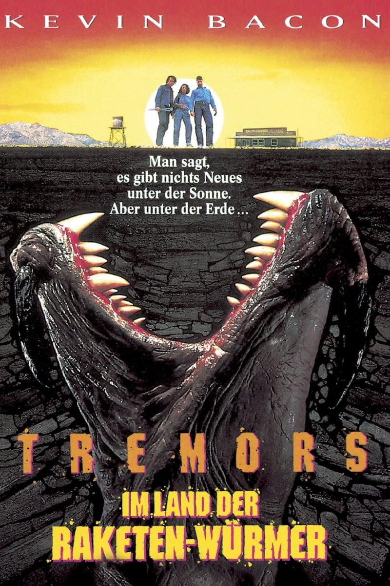 """Plakat von """"Tremors - Im Land der Raketenwürmer"""""""
