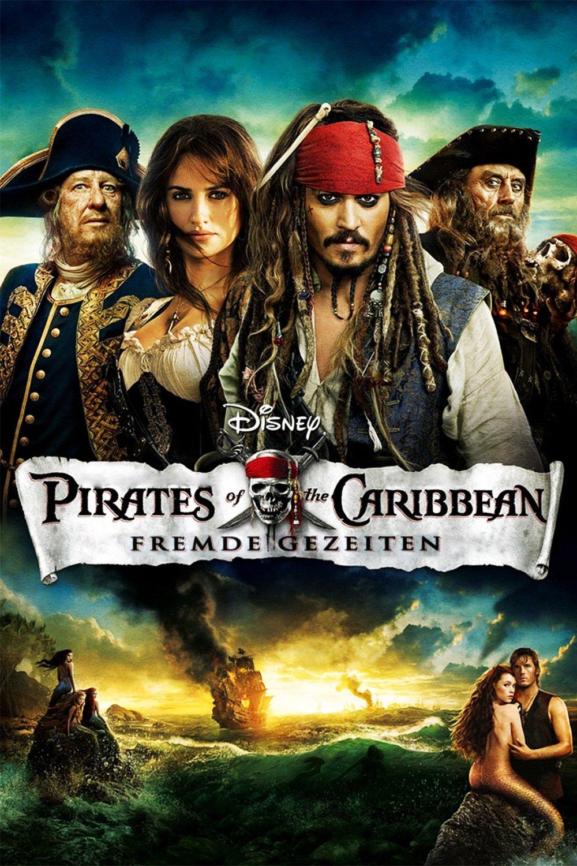 """Plakat von """"Pirates of the Caribbean - Fremde Gezeiten"""""""