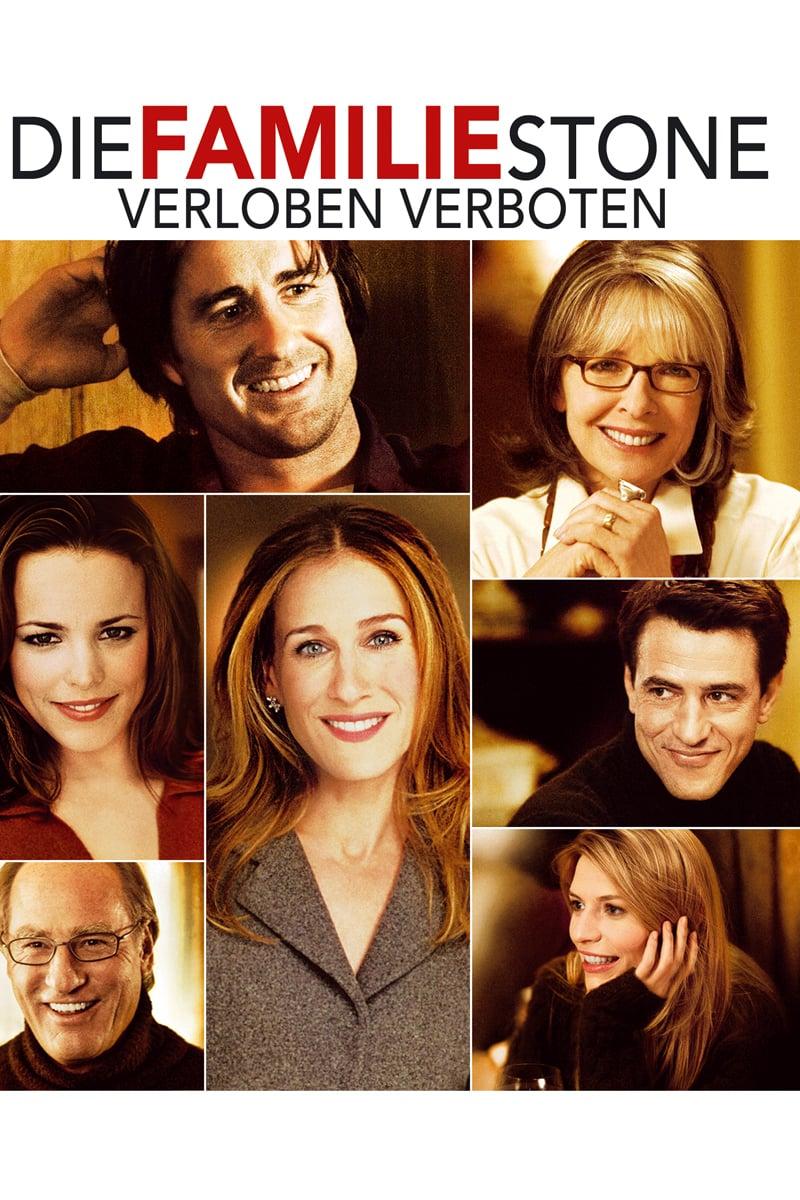 """Plakat von """"Die Familie Stone - Verloben verboten!"""""""