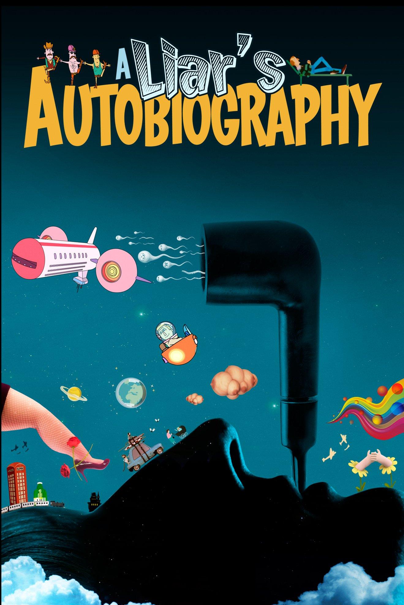 """Plakat von """"A Liar's Autobiography: The Untrue Story of Monty Python's Graham Chapman"""""""