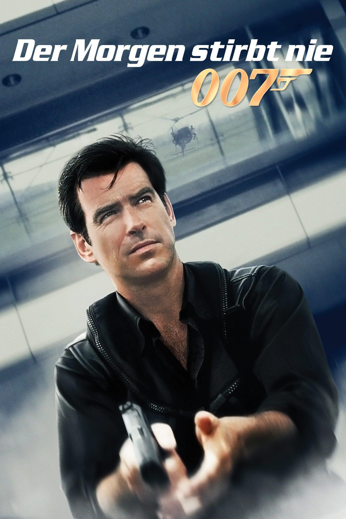 """Plakat von """"James Bond 007 - Der Morgen stirbt nie"""""""