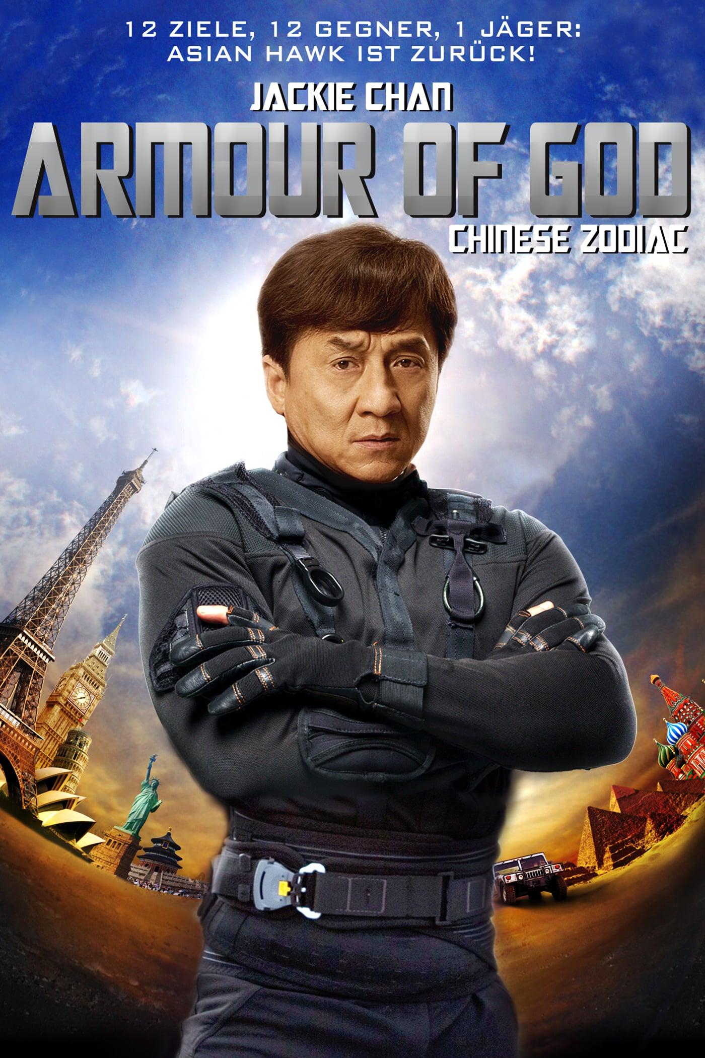 "Plakat von ""Armour of God - Chinese Zodiac"""