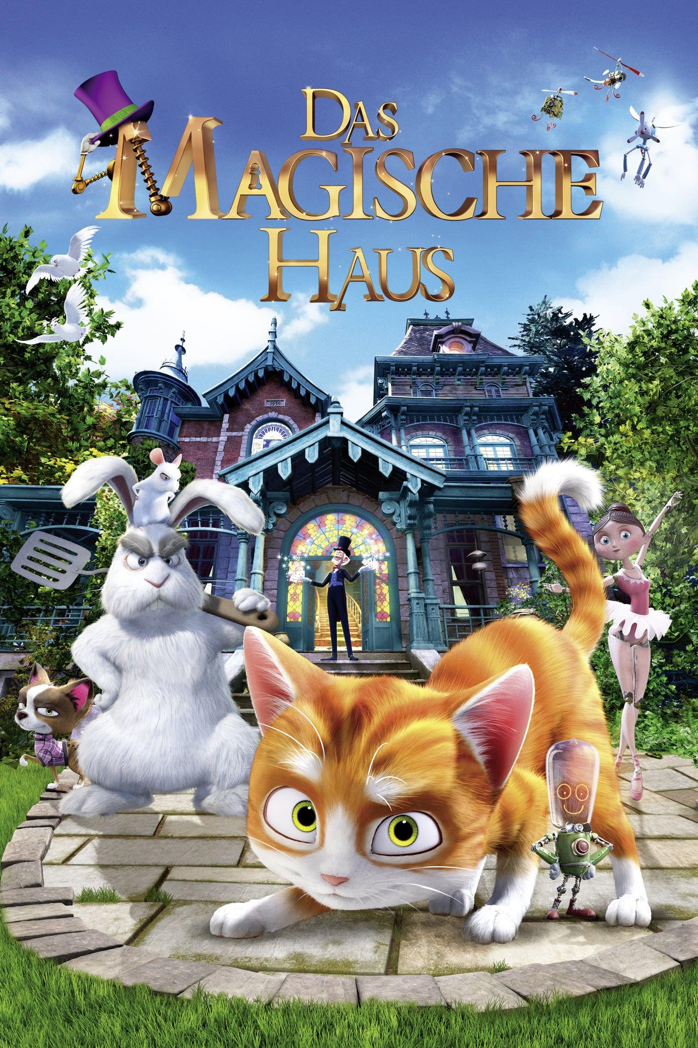 """Plakat von """"Das magische Haus"""""""