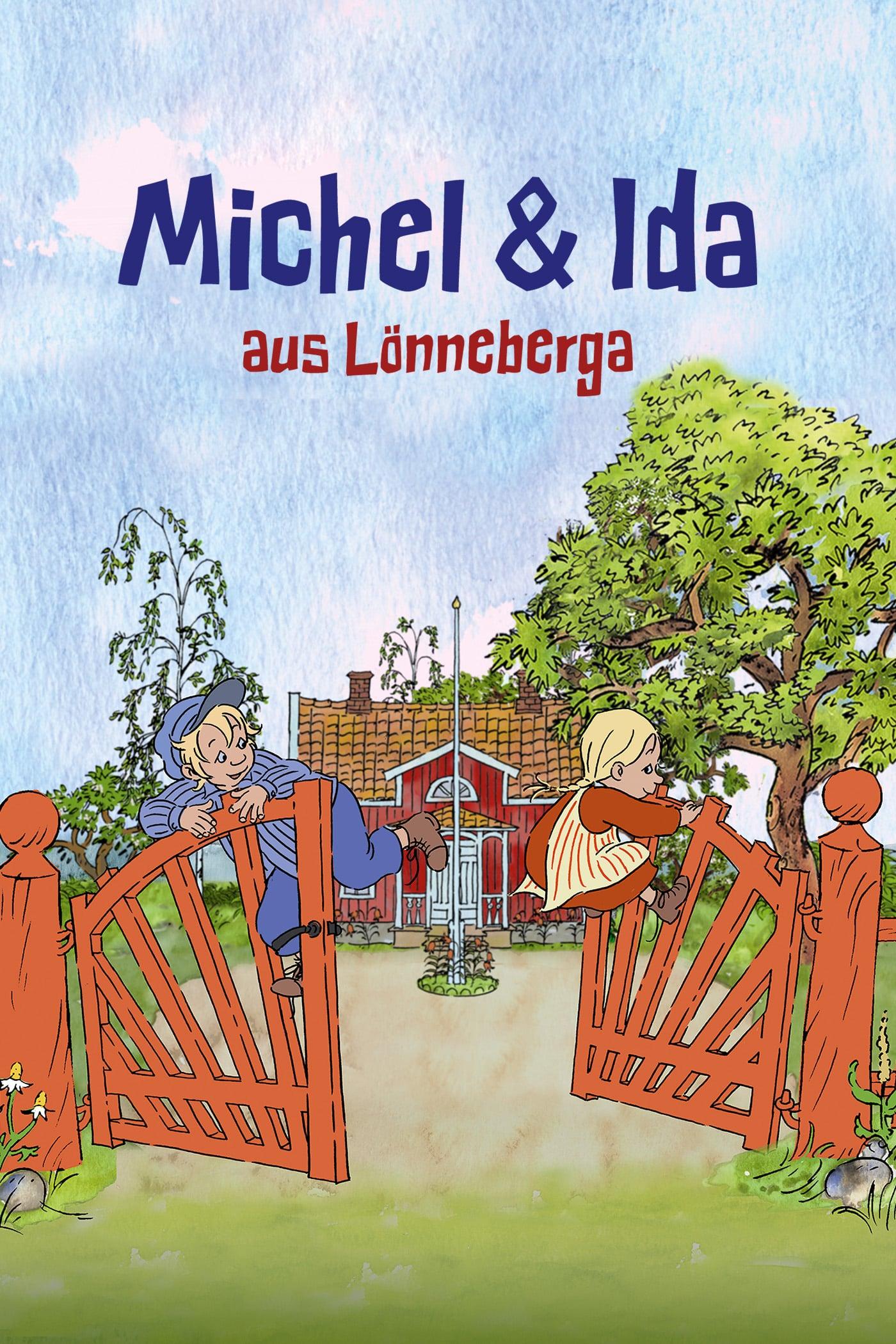 """Plakat von """"Michel & Ida aus Lönneberga"""""""