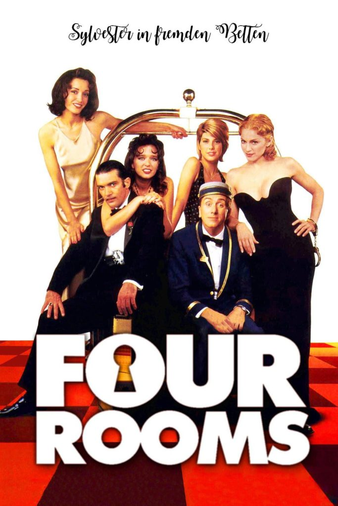 "Plakat von ""Four Rooms"""