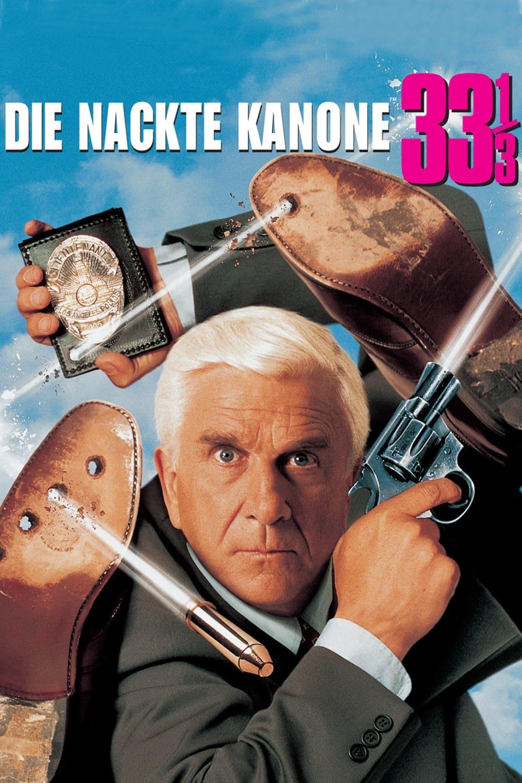 """Plakat von """"Die nackte Kanone 33⅓"""""""