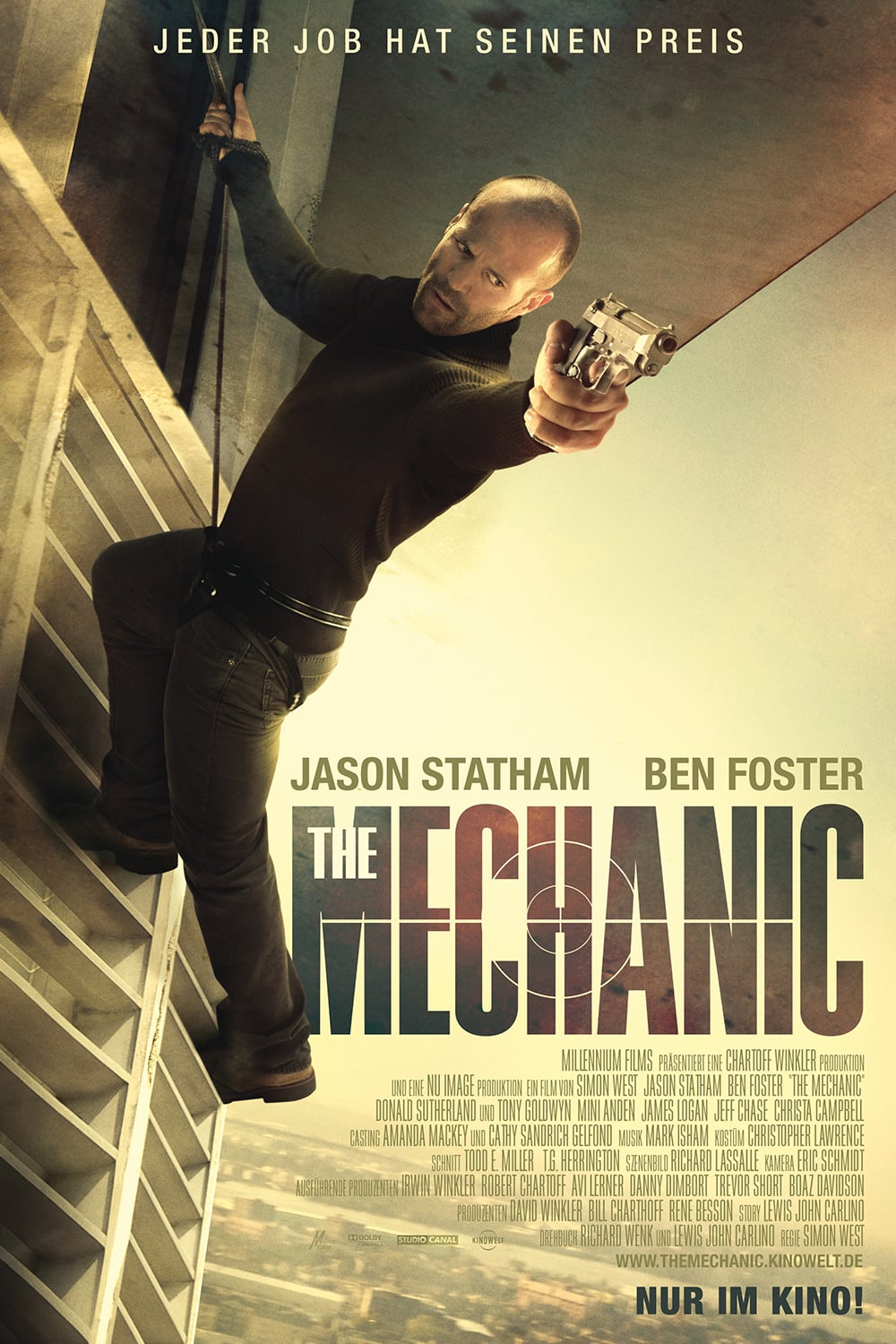 "Plakat von ""The Mechanic"""