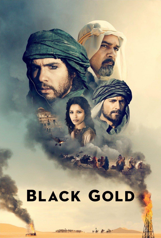 """Plakat von """"Black Gold"""""""