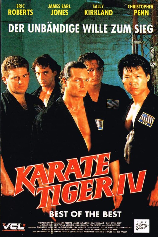 """Plakat von """"Best of the Best - Karate Tiger 4"""""""